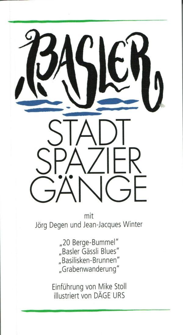Basler Stadtspaziergänge, Buch