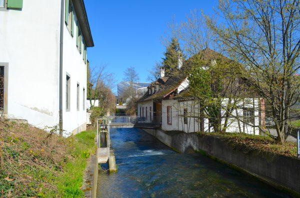 Dr Dalbe-Dyych - Mühle beim St. Jakob, Basel